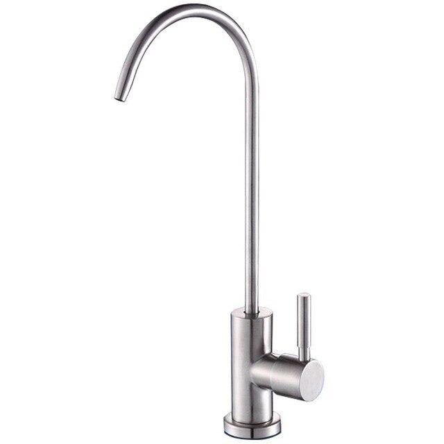 Кран для питьевой воды, обратный осмос, нержавеющая сталь 304