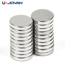 U-JOVAN 100pcs 5 x 1 mm N35 Small Disc Round Fridge Magnets Super Strong Craft Rare Earth Neodynium Magnet 5*1mm(China)
