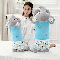 Elephant Pillow Toys For Girls Nordic Toys Plush Pillows Elephant Rabbit Bear Monkey Kawaii Pillow For Children'S Rooms Girls