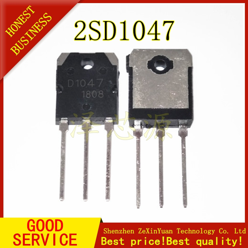 5PCS/LOT 2SD1047 D1047 12A/140V POWER TRANSISTORS TO-247