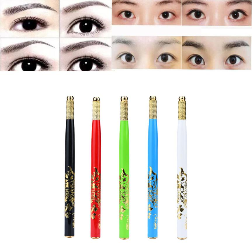 Rapture 1pc Microblading Pen Tattoo Machine Permanent Stainless Steel Makeup Eyebrow Tattoo Manual Pen Tattoo & Body Art Tattoo Accesories