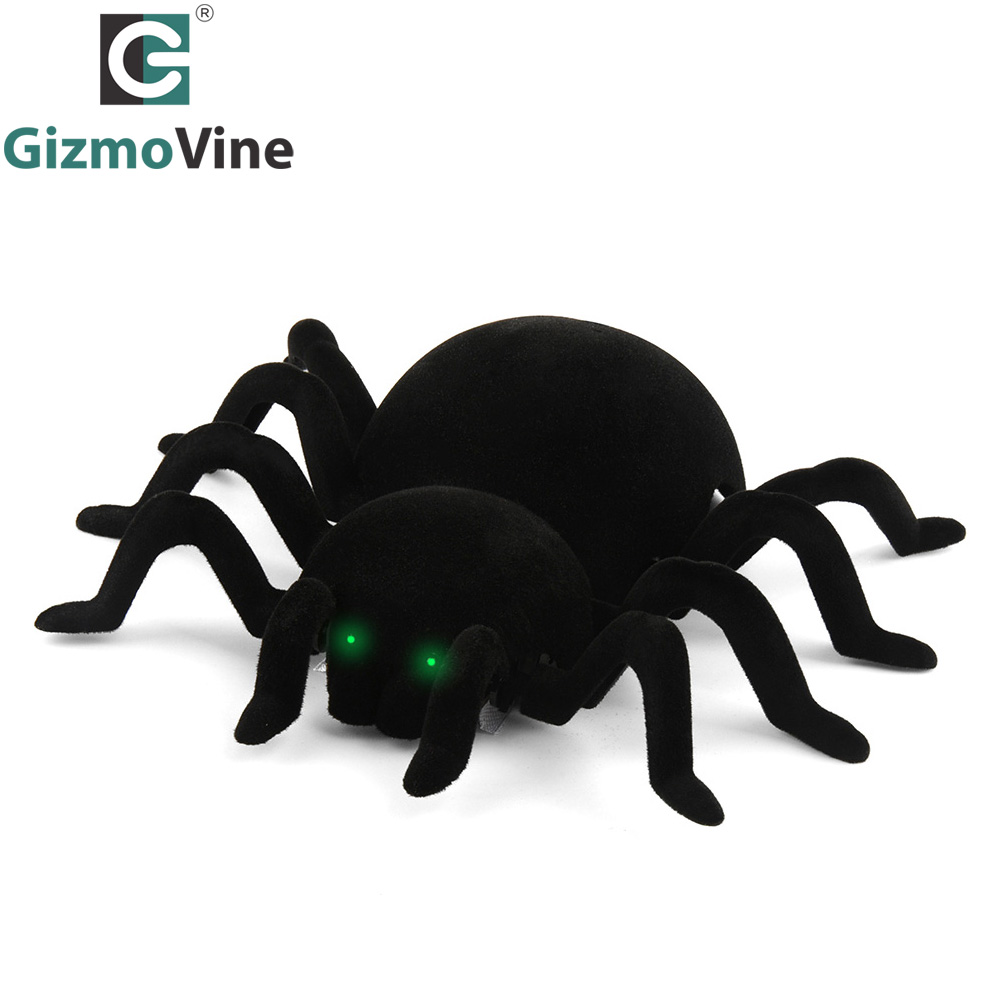 Wall Climbing Spider Remote Control Toys Infrared RC Tarantula Kid Gift Toy Simulation Furry Electronic Spider Toy For Kids Boys new infrared rc remote control centipede scolopendra creepy crawly toy gift