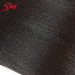 Image 4 - Sleek Remy Human Hair Malaysian Straight Bulk Hair For Braiding In Natural Color 8 To 30 Inches Crochet Braids No Weft Hair Bulk