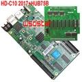 HD C10 HD-C10 RGB полноцветный СВЕТОДИОДНЫЙ дисплей платы управления с 1 шт. HUB75B адаптер карты 8 * HUB75