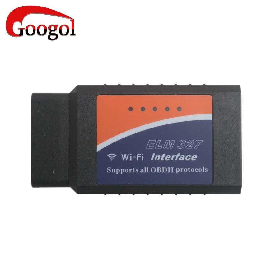 Prix pour WIFI OBD2 ELM327 Sans Fil Auto Scanner Adaptateur pour iphone/ipad/iPod Livraison Gratuite