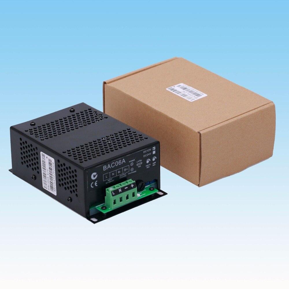цена на BAC06A 12V or 24V Auto Battery Charger Floating charge, 12V or 24V Auto Battery charger 12V 6A or 24V 3A