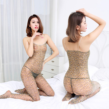 Lenceria Leopard Sexy Lingerie Hot Sex Products Costumes Plus Size Underwear Bodystocking Disfraces Adultos Catsuit Nuisette