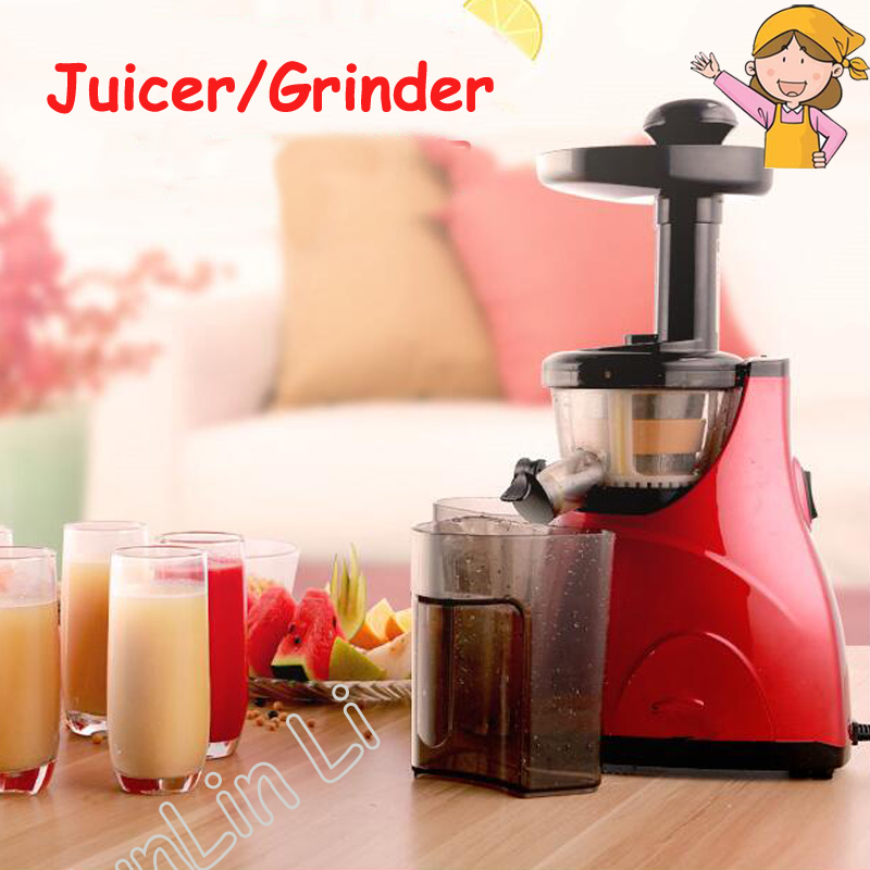 Automatic Juicer Electric Fruit Juicing Machine Stainless Steel Cold Press Extractor Squeezer Home use