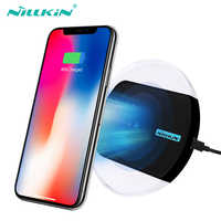 NILLKIN Qi Wireless Charger for iPhone XS/XR/X/8/8 Plus For Samsung S10/S10E/Note 8/S9/S8/S8 Plus Charging Pad For Xiaomi mi 9