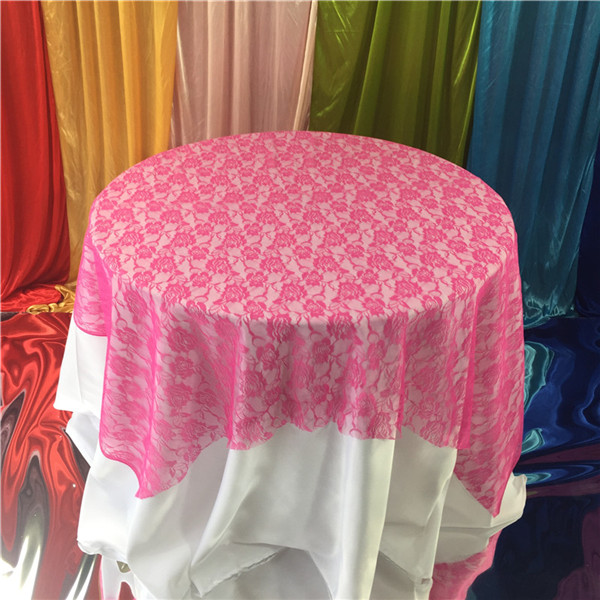 Factory Direct 10 Colors Table Cloth Cotton Linen Lace Tablecloth Dining Table Cover For Kitchen Home Wedding Party Decor