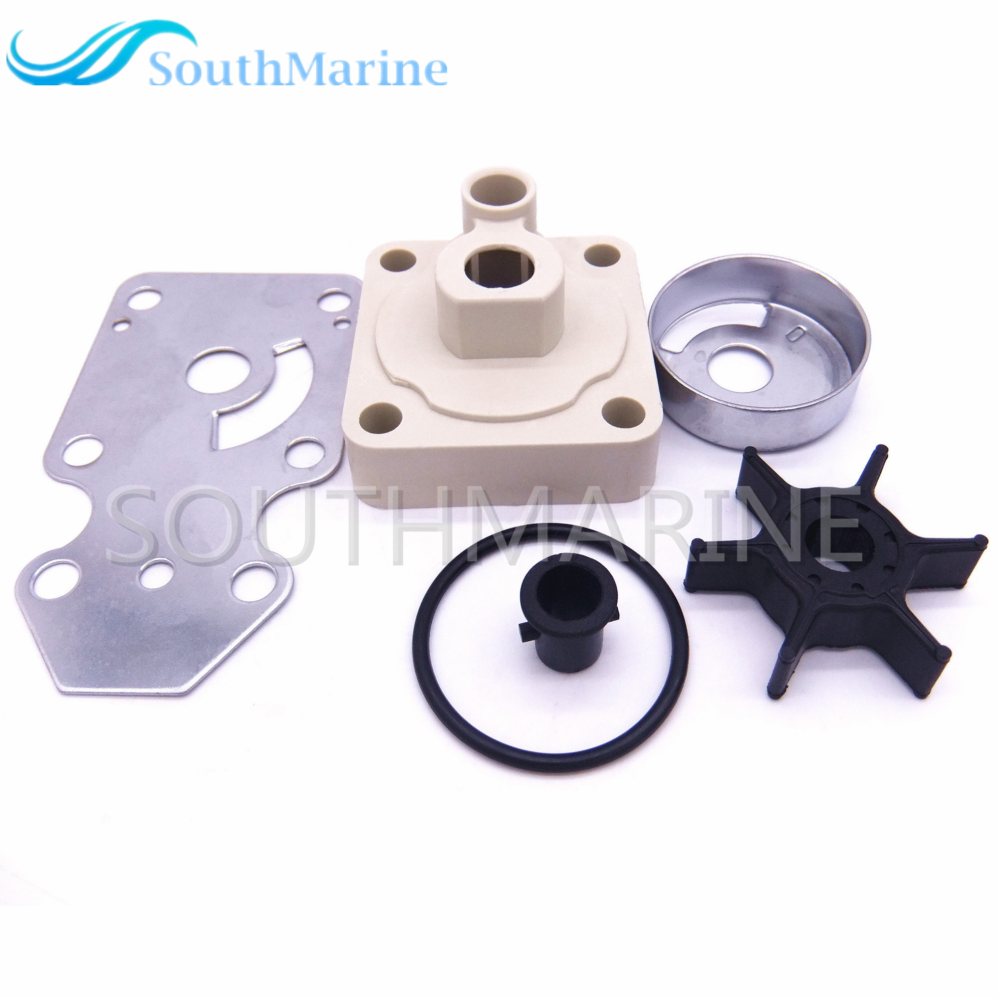 Water Pump Impeller Repair Kit For Parsun HDX / Hidea F15 15hp 2-stroke 4-stroke Outboard Motors