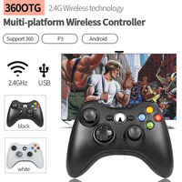 For Xbox 360 Wireless Controller with 2.4 G Receiver Game Controller For XBOX 360 Gamepad Compatible For PS3 PC