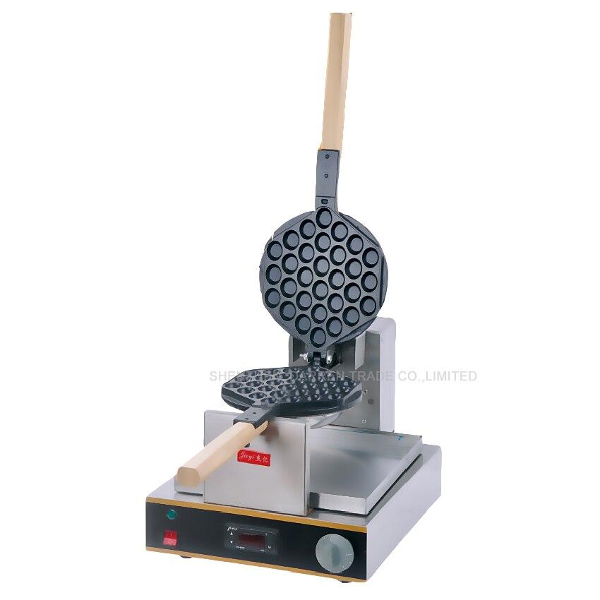 1PC Hot Sale EGG Waffle maker Machine  220V digital display egg waffle maker/egg seed roaster/ FY-6D waffle machine hot sale 32pcs gas bean waffle maker