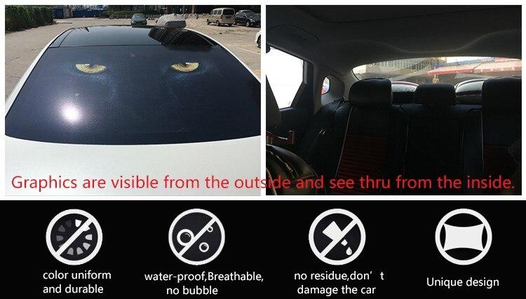 Aliexpresscom Buy Shenzhen New Popular Items Decorative Decals - Car rear window stickers