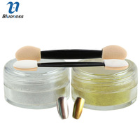 3g Gold Silver 2 Colors Charm Nail Art Mirror Powder Manicure Shine Gloss Polish Pigment Powder