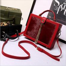 New Fashion Women Solid genuine Leather Handbag High Quality Chain Shoulder Lady Messenger Bag Candy Color Crossbody Bags