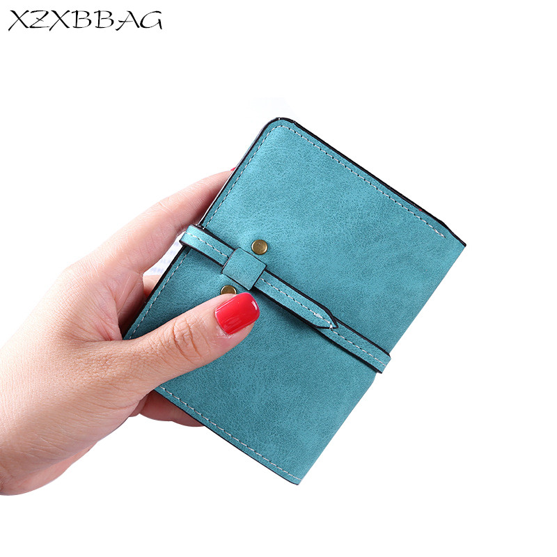 XZXBBAG 2017 Fashion Women Short Wallet Multiple Card Holder Coin Purse Ladies Drawnstring Big Capacity Money Bag Female Handbag xzxbbag fashion female zipper big capacity wallet multiple card holder coin purse lady money bag woman multifunction handbag