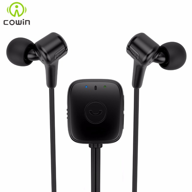 Cowin HE7 Активного Шумоподавления Bluetooth Наушники с Микрофоном Спорт Беспроводной Работает Наушники Bluetooth Гарнитура для телефона