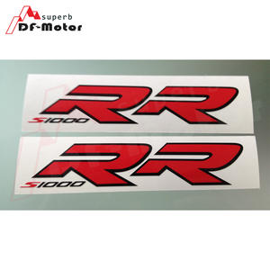 Rouge Brillant Jante de Moto d/écalcomanies Autocollant Accessoire pour Honda CBR 1000