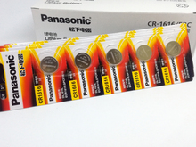 10pcs/lot New Original Panasonic CR1616 Button Cell Coin Batteries Car Remote Control Electric Alarm 3V Lithium Battery