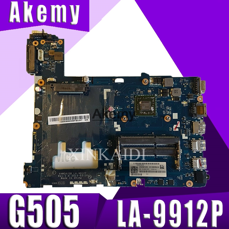 LA-9912P laptop motherboard for Lenovo ideapad g505 LA-9912P laptop motherboard A4 CPU Test motherboardLA-9912P laptop motherboard for Lenovo ideapad g505 LA-9912P laptop motherboard A4 CPU Test motherboard