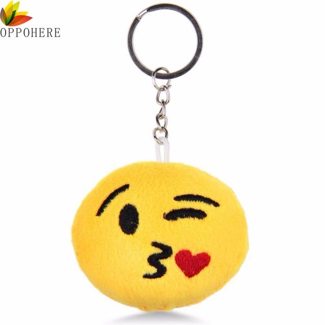 Oppohere Emoji Smiley Plush Toy Doll Emotion Yellow Soft Cushion