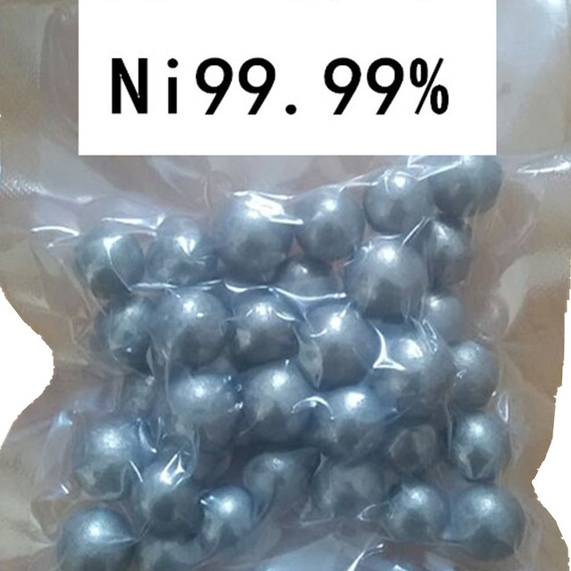 US $14 99 |High Purity Nickel Sphere Ni Balls 99 99% 4N Research and  Development Element Metal Simple Substance High Temperature-in Bolts from  Home