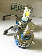 Super Bright! 2015 New H4 9003 HB2 LED Headlight Conversion Kit Hi/Lo Beam 60w COB 6000K White Light Bulbs