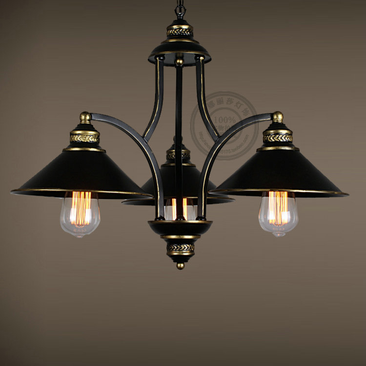 Multiple Chandelier living room iron lighting lamp hanging restaurant bedroom chandelier American Creative Pastoral retro ZX62 multiple chandelier dining room bedroom lamp iron simple modern retro american pastoral lighting zx42