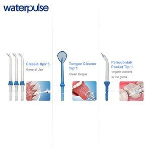 Image 5 - Waterpulse V660 פרו 7 חרירי אוראלי משטף האף לשטוף לערבב חוט שיניים מים חשמלי Flosser משטף אוראלי מים שיניים