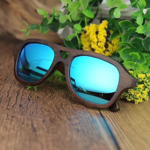 Marinas Wooden Sunglasses K-OBA Eyewear