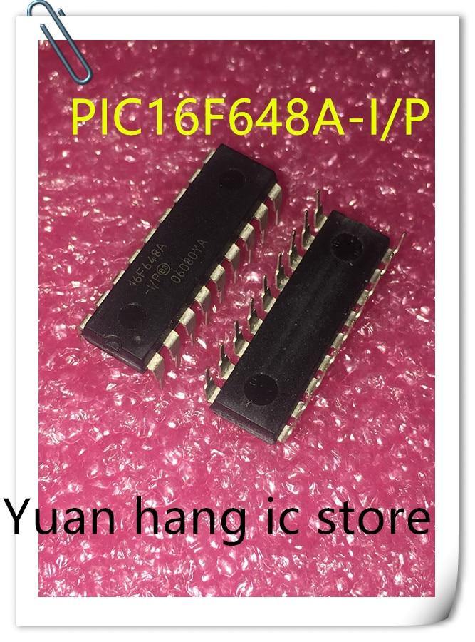 10pcs/lots PIC16F648A-I/P PIC16F648A PIC16F648 16F648A-I/P DIP-18 In Stock!
