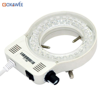 New Arrival Hot Sale 60000LM Adjustable Ring LED Round Light For Illuminator Lamp For STEREO Microscope