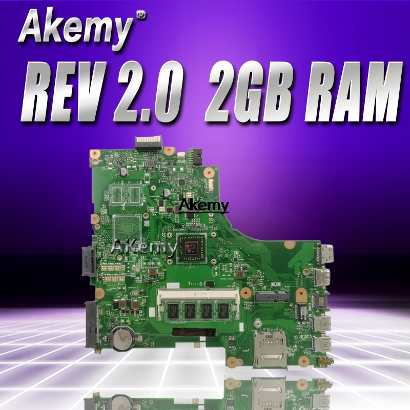 X450EA с AMD Процессор 2 Гб Оперативная память материнская плата версия 2,0 для Asus X450EA X450E X450EP X452EA X452E A452E Материнская плата ноутбука 100% тестировани...