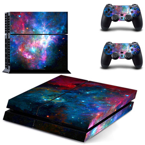 Image 4 - Galaxy Stars Vinyl Stickers Voor Sony Playstation 4 Console & 2 Controller Skin Voor PS4 Stickers Cover