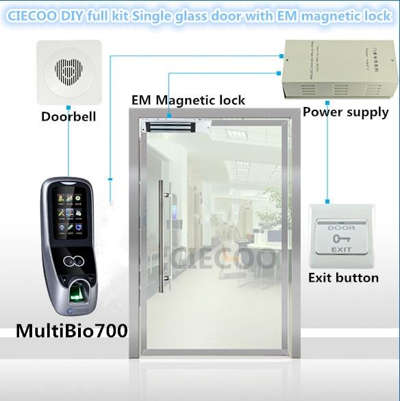 Multibio700 Access Control Zkaccess Biometric Reader