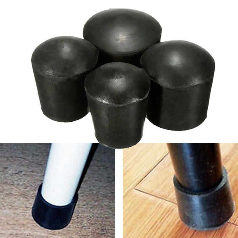 For Chair Table Furniture Feet Leg 4 X Rubber caps Caps Anti Scratch   Rubber Protector   Hot New 10Pcs  16-50mm 2