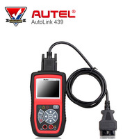 Autel Autolink AL439 Auto MultiMeter AVOMeter Scanner Color Screen OBDII Diagnostic Engine Code Scanner