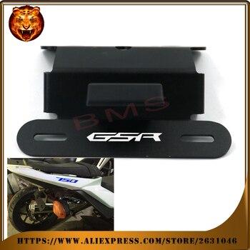 For SUZUKI GSR 750 GSR750 2011 2012 2013 2014 Motorcycle Fender Registration License Plate mount TailLight LED Holder Bracket