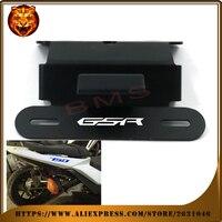 For SUZUKI GSR 750 GSR750 2011 2012 2013 2014 Motorcycle Fender Registration License Plate Mount TailLight