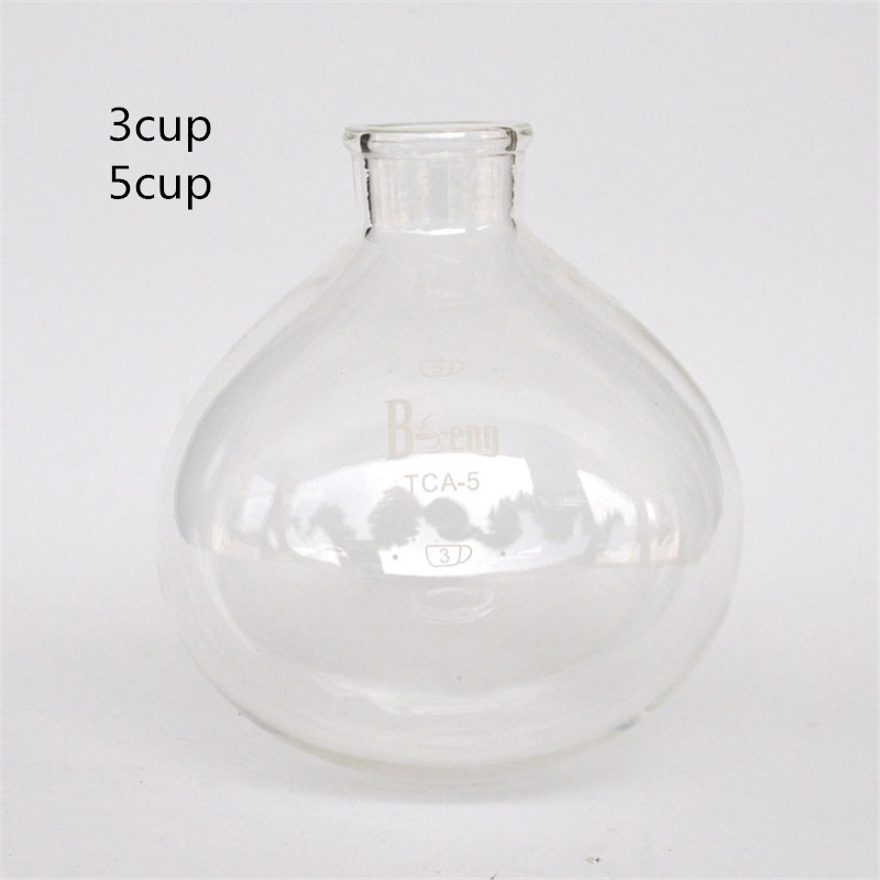 High quality 3 cups 5 cups glass siphon pot fitting vacuum coffee maker filter coffee pot