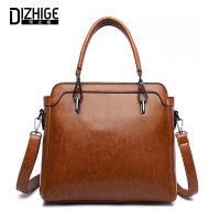 DIZHIGE Women Shoulder Bag High Quality PU Leather Bags Ladies Handbag Female Solid Tote Bag Brand