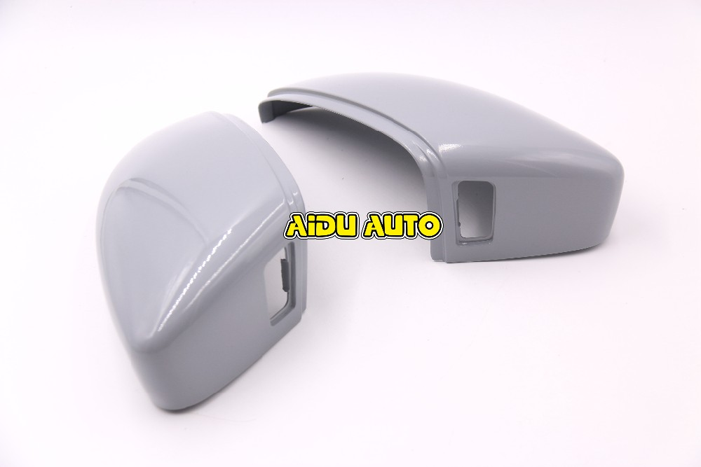 1 Pair Of Side Assist Mirror Cover For VW CC Passat B7 Outside mirror 3C8 857 538 A 3C8857537A intelligent auto parking assist park assist pla 2 0 for vw passat b7 cc 3aa 919 475 s 8k to 12k