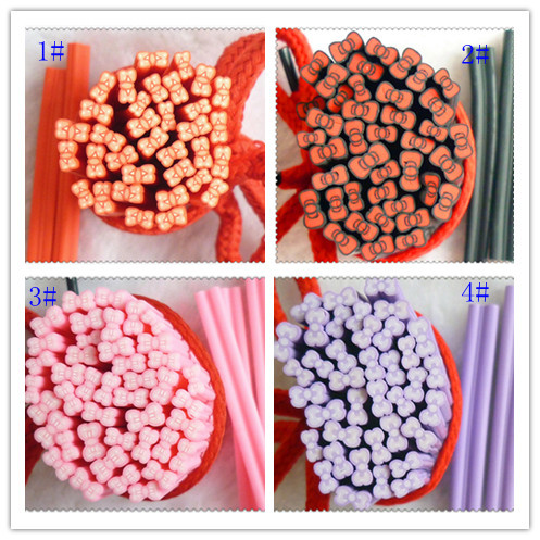 Nail art clay bar nail art diy accessories clay bar polymer clay stick polymer clay fruit of