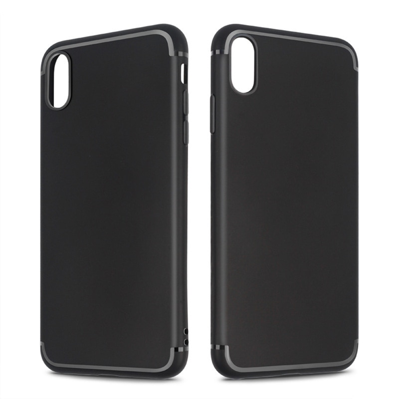 For iphone 7 case matte phone case for iphone xs Xs max XR 6 7 8 X case cover for iphone 8 plus case luxury Silicone Soft Shell
