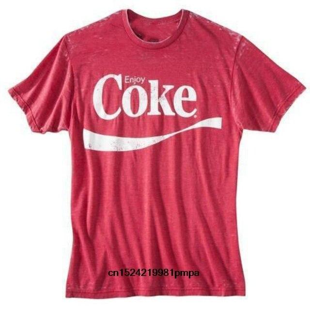 d3fea9b1 Coca~ Cola Enjoy Coke ~ Men's Graphic Tee T-shirt Fashion Short Sleeves  Cotton