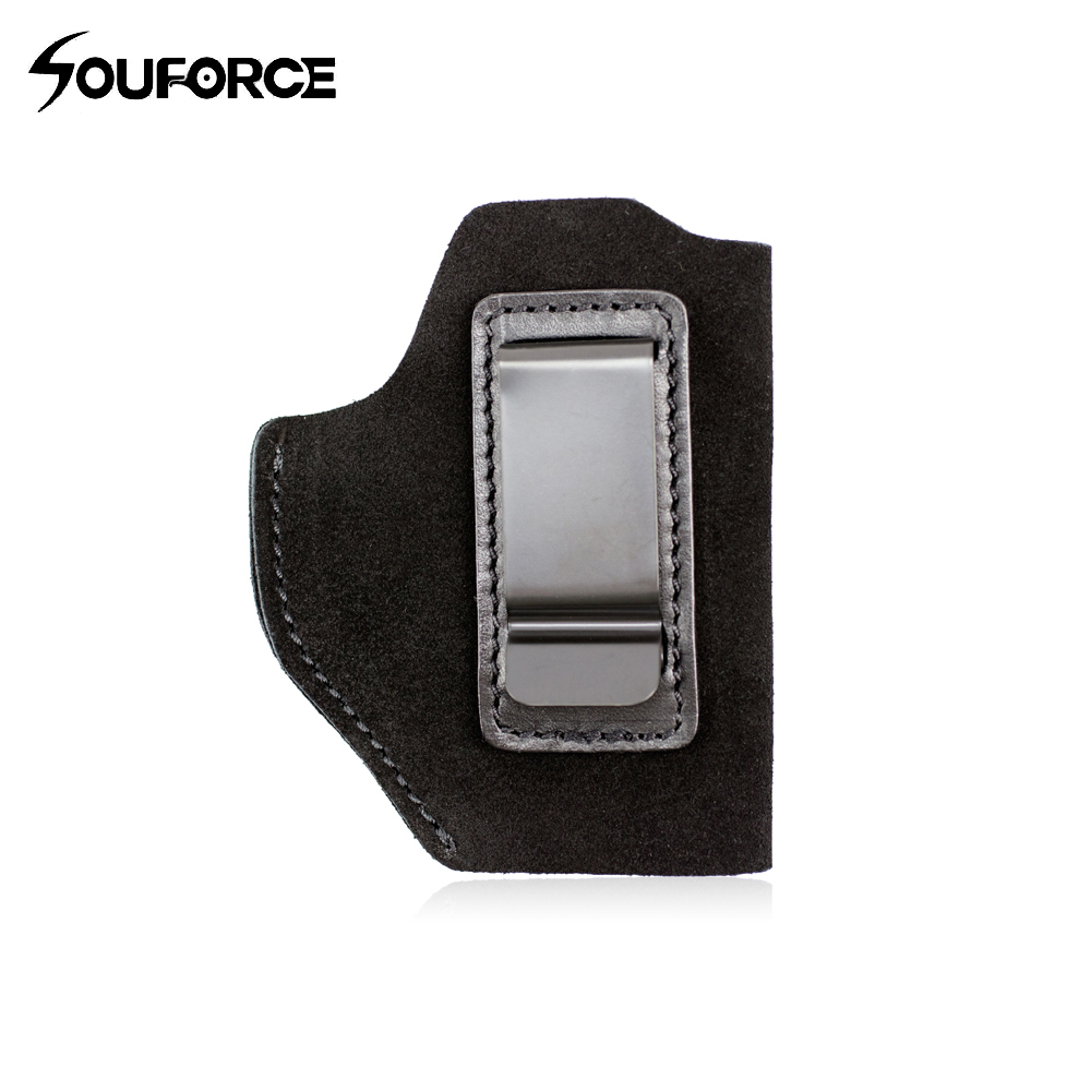 The Protector Leather IWB Holster for Glock 19, <font><b>23</b></font>, 26, 27, 29, <font><b>30</b></font>, 30S, 32, 33, <font><b>36</b></font>, 38, 39, 43, 43X,P229, P239 image