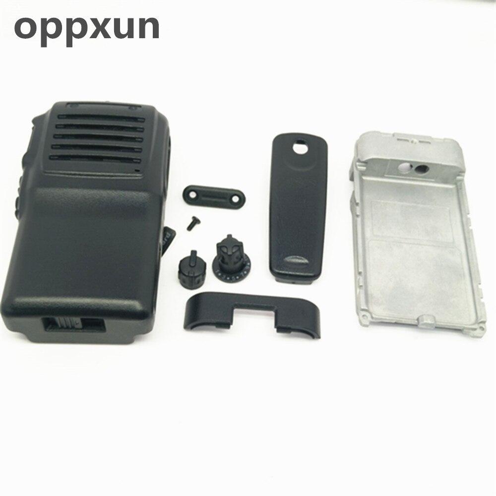 OPPXUN Couverture coquille avant et arrière plaque pour Vertex VX231 accesorios deux radios bidirectionnelles