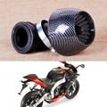 Beler Motocicleta Preta 35mm 42mm 48mm Anel Adaptador Filtro de Ar fit para Bicicletas Da Sujeira 150cc 250cc Scooter Moped ATV Quad Go kart