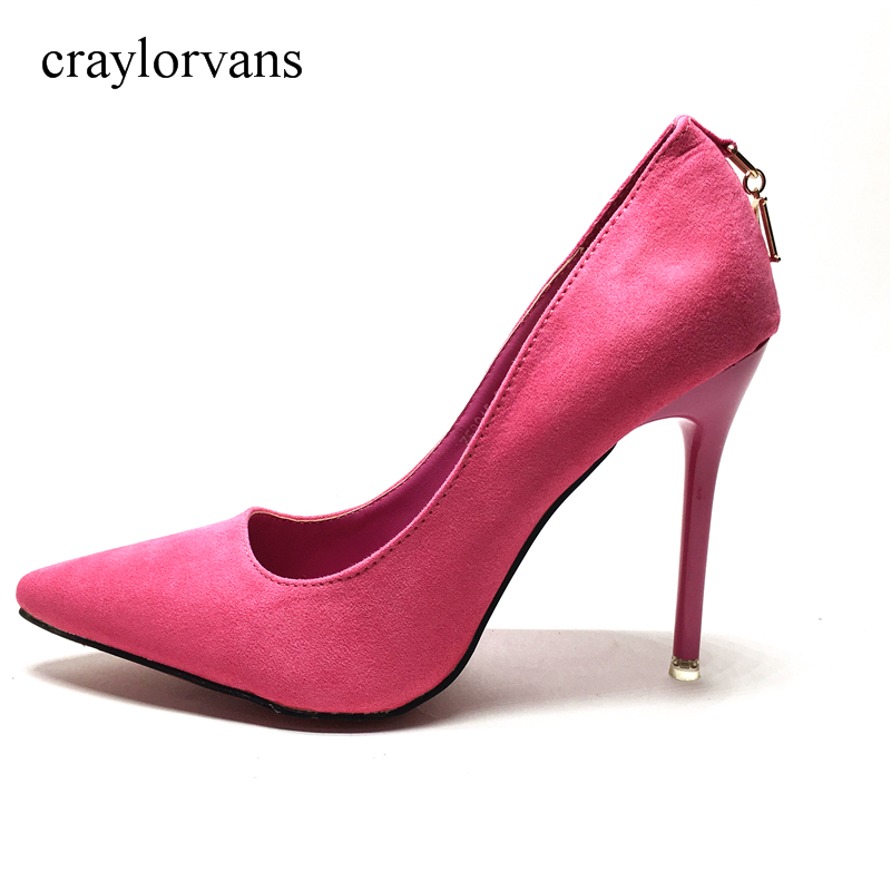 Spring Autumn Women Pumps Sexy Pink High Heels Shoes Fashion Luxury  Wedding Party Shoes Ladies Office Shoes siketu 2017 free shipping spring and autumn women shoes high heels shoes wedding shoes nightclub sex rhinestones pumps g148